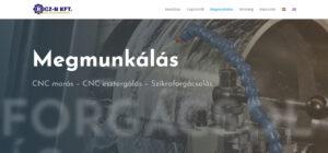 Wordpress webolda készítés, honlap készítés